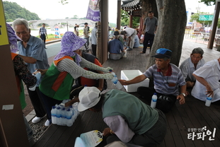 남원시 지역자율방재단...'시민에게 선(善)물'