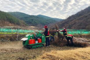 산청군, 산불 예방 목재 파쇄기 도입·운영
